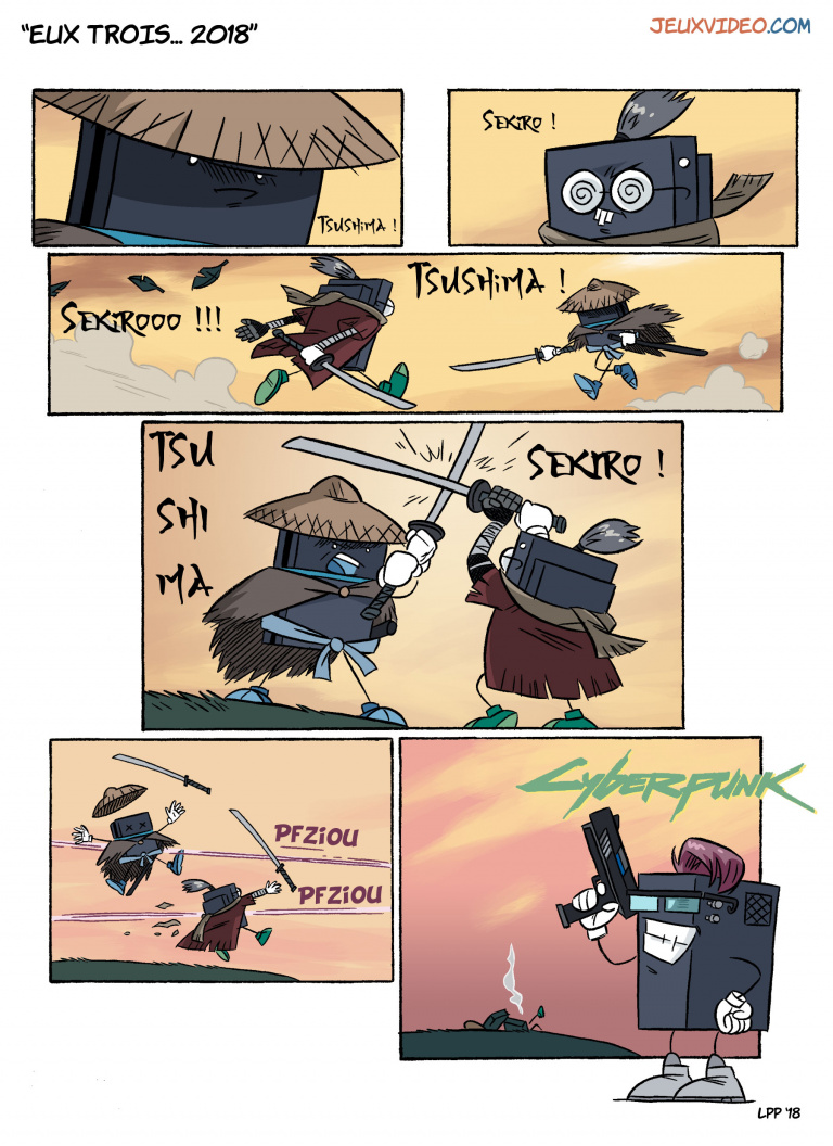 LaPetitePelle dessine Jeuxvideo.com - N°238