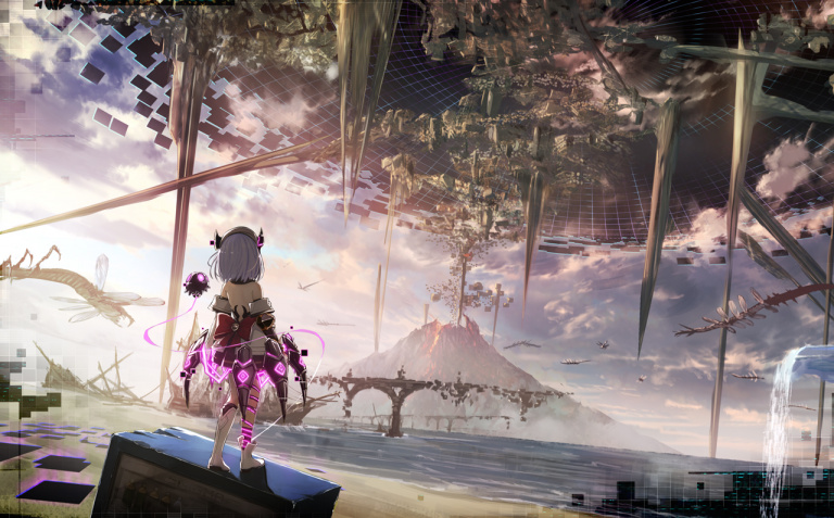 Death end re;Quest, une autre idée du game over