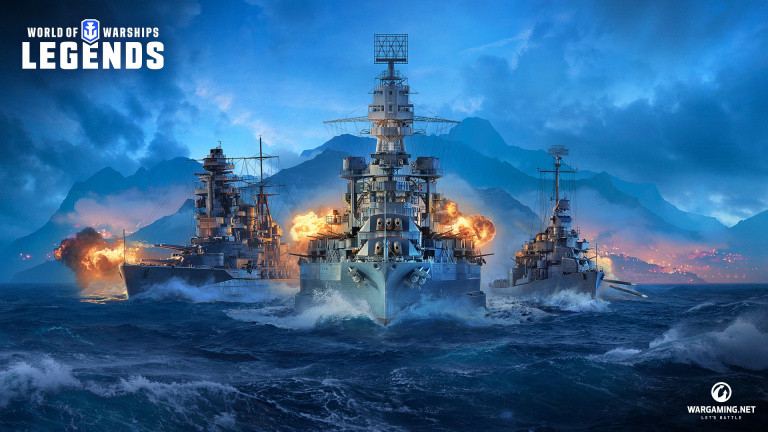 World of Warships : Legends met les voiles sur PS4 et Xbox One