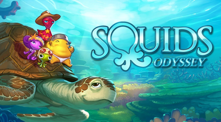 Squids Odyssey arrive sur Switch