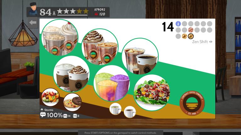 Cook, Serve, Delicious ! 2 nous sert du contenu inédit avec la Barista Update