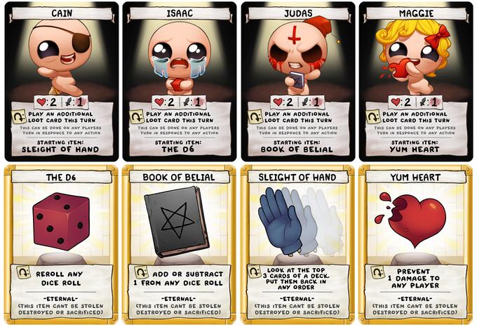 The Binding Of Isaac Four Souls Est Un Jeu De Cartes En Quête De Financement Sur Kickstarter Actualités Jeuxvideo Com
