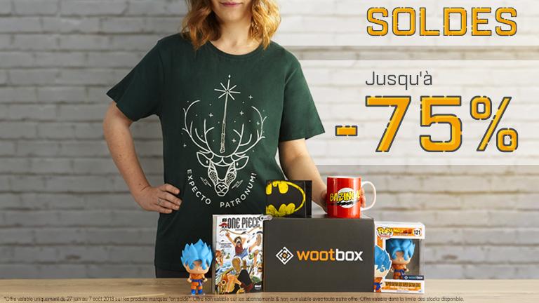 Préparez-vous à faire des affaires avec les soldes Wootbox !