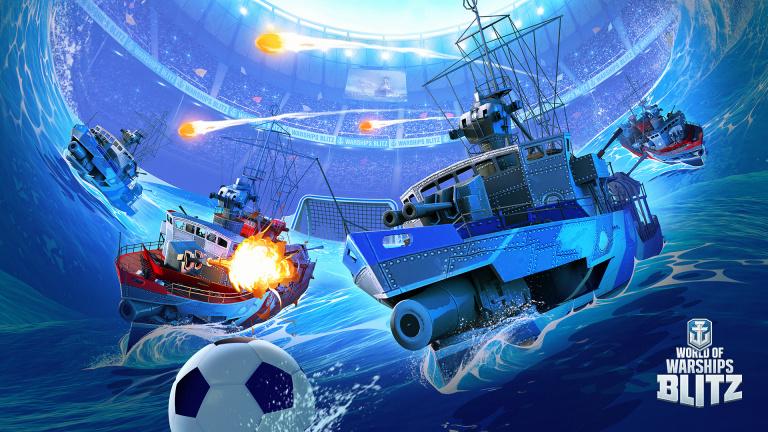 World of Warships Blitz s'équipe d'un mode football naval pour l'été