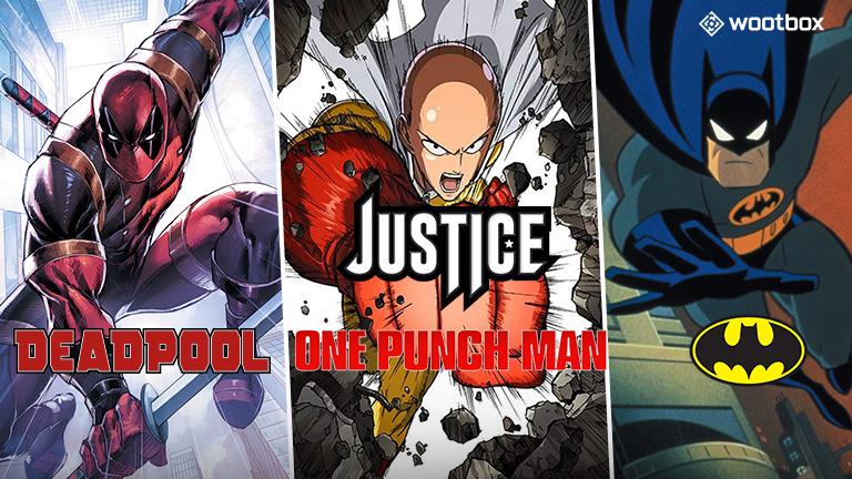 Ce mois-ci, la justice est à l'honneur dans la Wootbox !