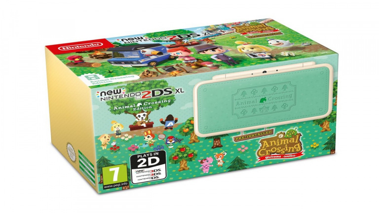 Une New Nintendo 2DS XL Animal Crossing Edition arrive le 20 juillet