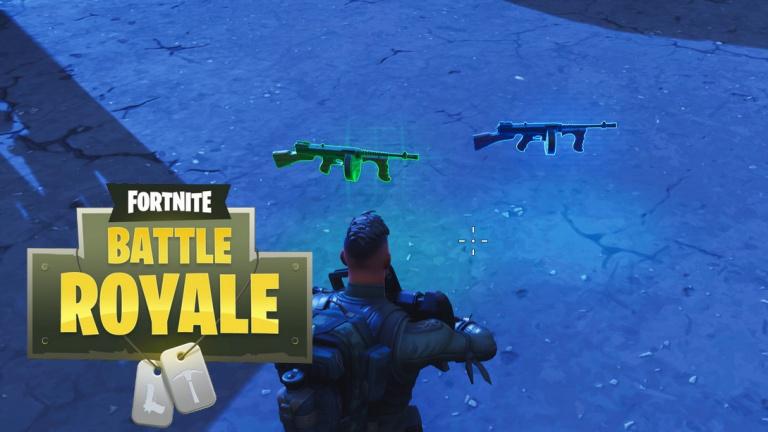 Fortnite : des morceaux de la carte disparaissent , le pistolet-mitrailleur à tambour débarque
