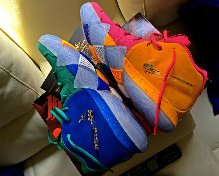 NBA 2K18 : les meilleurs joueurs ont droit à une paire de baskets Nike collector !