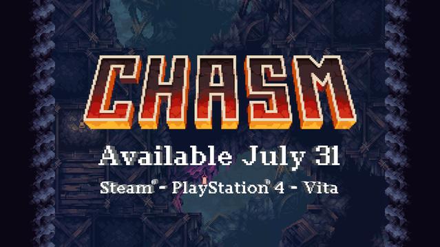 Chasm : le Metroidvania tient enfin sa date de sortie