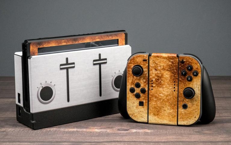 Switch : une skin pour donner un look de Grille-pain à votre console !