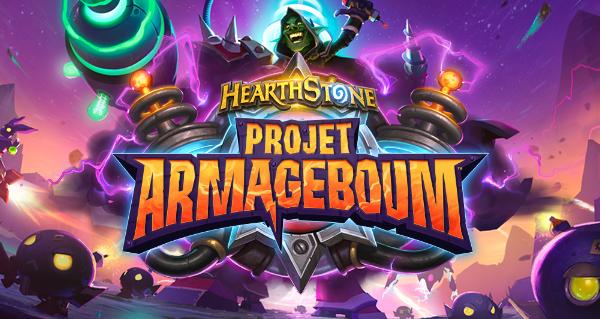"""Hearthstone : Blizzard dévoile la prochaine extension, """"Projet Armageboum"""""""