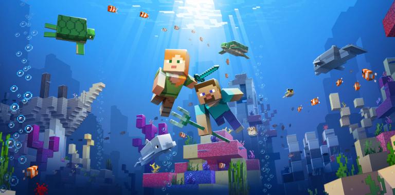 Minecraft : la deuxième phase de l'Update Aquatic est là