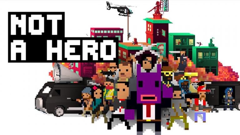 Not A Hero rejoindra prochainement la Nintendo Switch