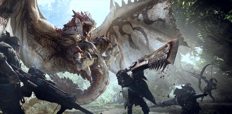 Monster Hunter World PC déjà soldé chez Gamesplanet