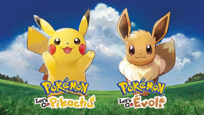 Nintendo dévoile la liste des Pokémon exclusifs à chaque version Let's Go