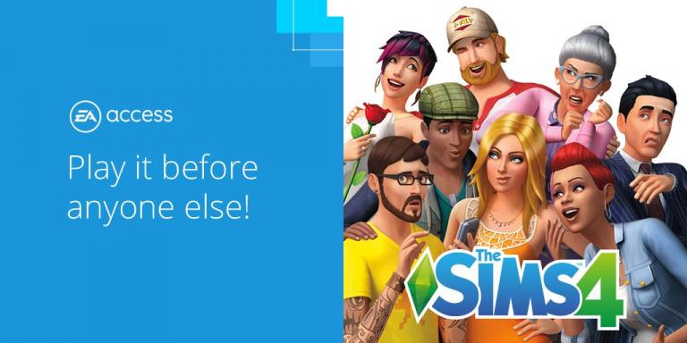 EA Access : Les Sims 4 débarque sur Xbox One