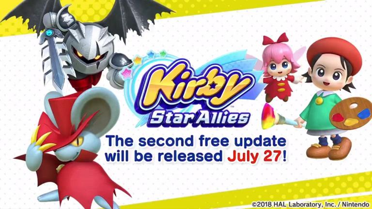 Kirby : Star Allies - la mise à jour d'été arrive le 27 juillet avec des niveaux inédits