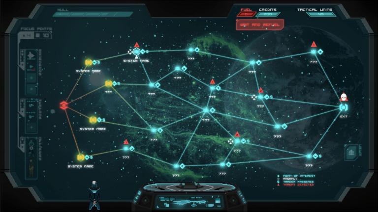 Crying Suns : le tactical sci-fi financé avec succès sur Kickstarter