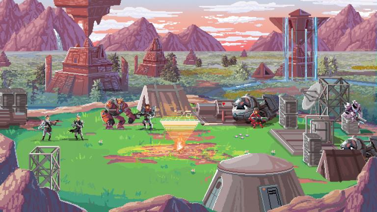 Star Renegades : un jeu de rôle tactique au pixel art séduisant