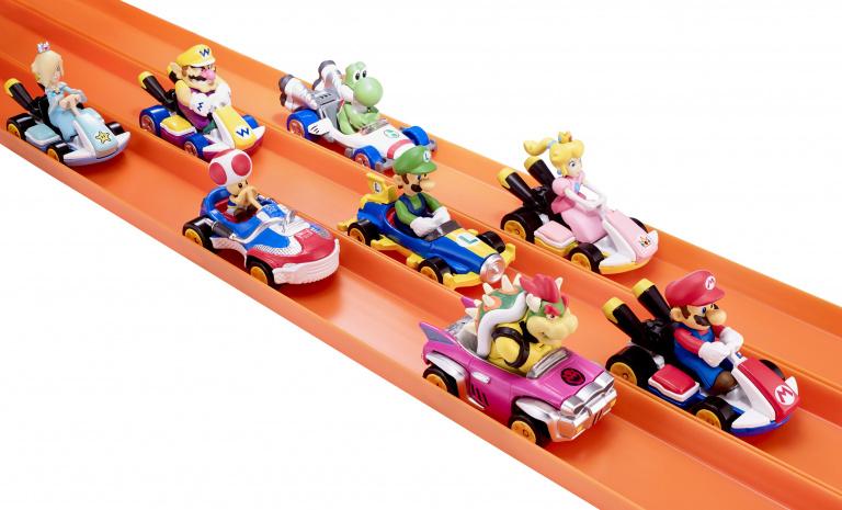 Nintendo annonce des voiturettes Hot Wheels dédiées à Mario Kart