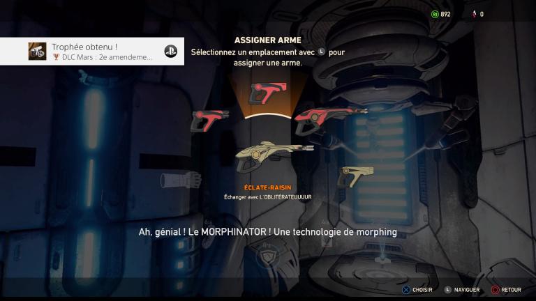 Obtenir toutes les armes de Lost On Mars