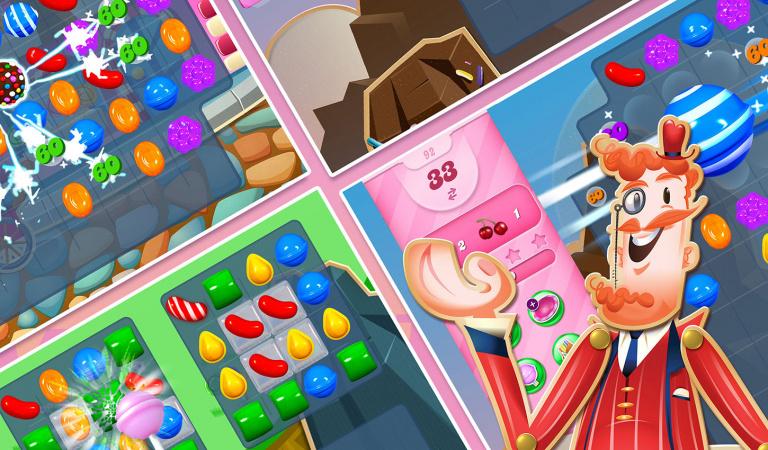 Candy Crush Saga : 200 millions de dollars de revenus sur le second trimestre
