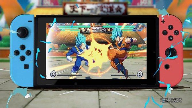 Dragon Ball FighterZ : une bêta ouverte sur Nintendo Switch en août