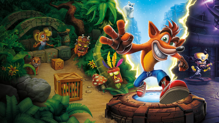 Crash Bandicoot s'invitera sur les Switch japonaises en octobre