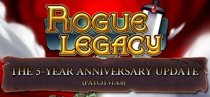 Rogue Legacy : une traduction française dans le patch cinquième anniversaire