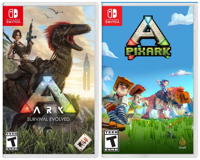 ARK et PixARK auront droit à une sortie physique sur Nintendo Switch