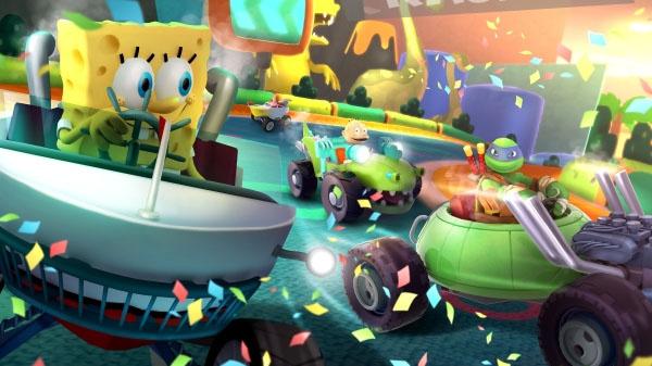 Nickelodeon Kart Racers : Bob L'Éponge, Les Tortues Ninja Et Les Razmokets Se Rejoignent Sur La