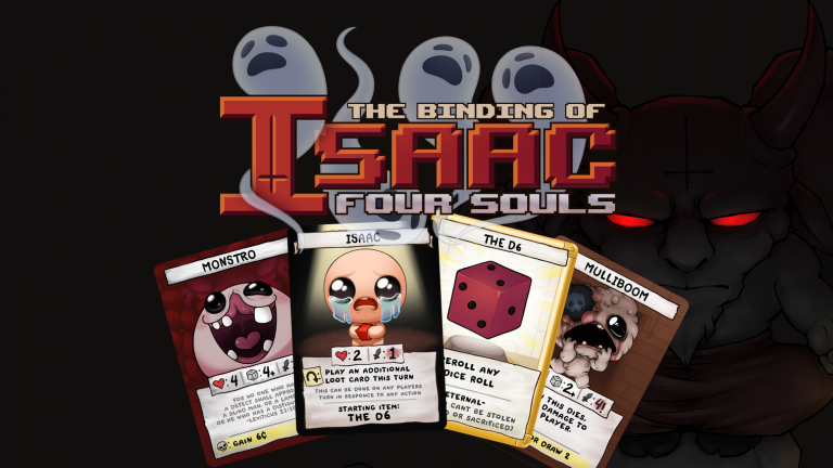 The Binding of Isaac : Four Souls termine son Kickstarter avec 2,65 millions de dollars