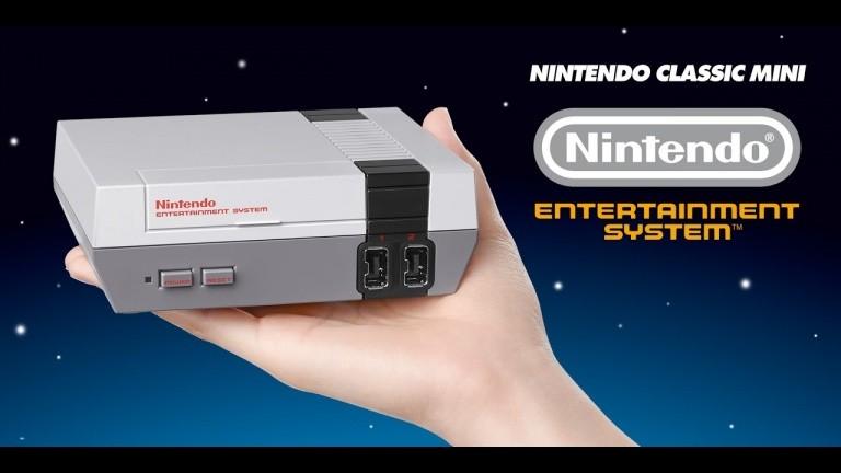 NES Classic Mini : 1,26 million d'unités vendues depuis sa remise sur le marché