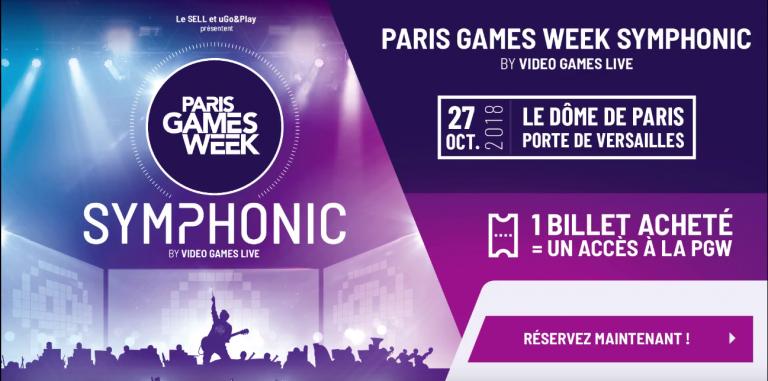 PGW 2018 : le concert Paris Games Week Symphonic sera de retour