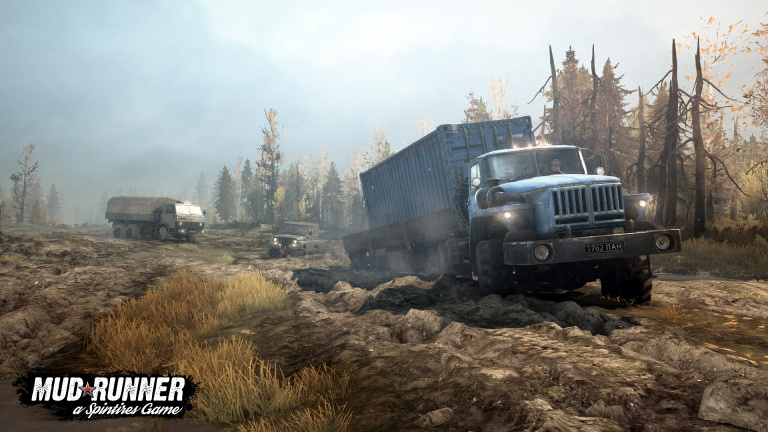 Spintires : MudRunner annonce son DLC American Wilds