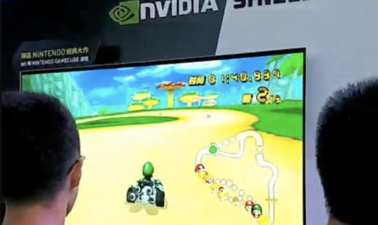 nVIDIA : Mario Kart Wii arrive sur SHIELD TV en Chine !