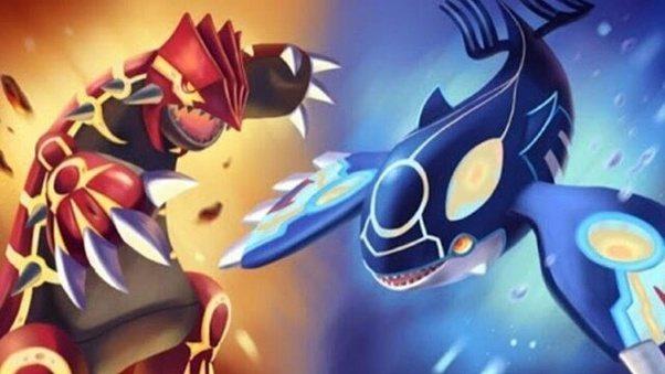 Pokémon Soleil et Lune : Les codes pour Kyogre et Groudon sont en magasin