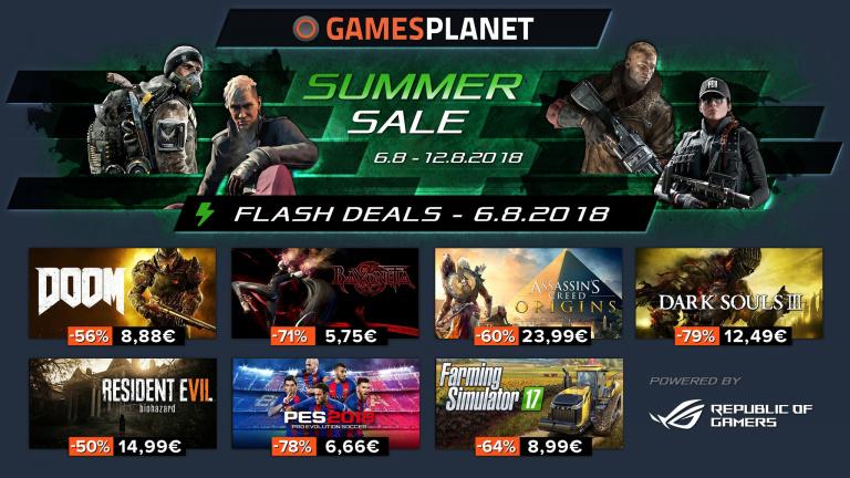 Gamesplanet lance ses soldes d'été !