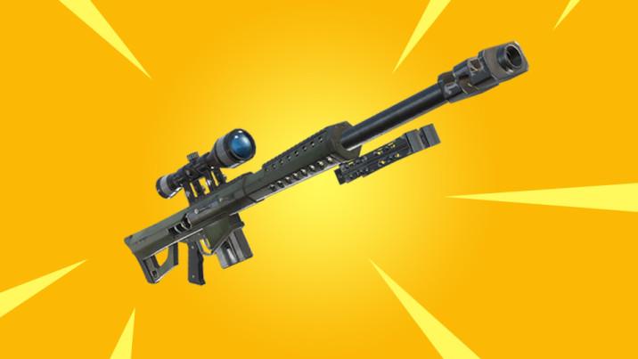 Fortnite Battle Royale : trois nouvelles armes en approche ? Sniper, fusil à pompe... A quoi s'attendre