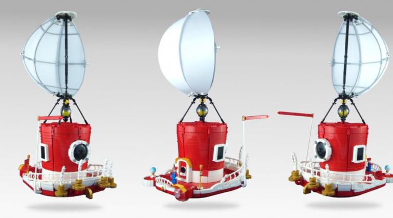 Super Mario Odyssey : il construit le vaisseau du plombier en LEGO