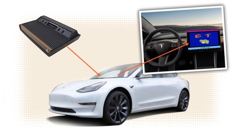 Atari : un accord avec Elon Musk pour équiper les Tesla !