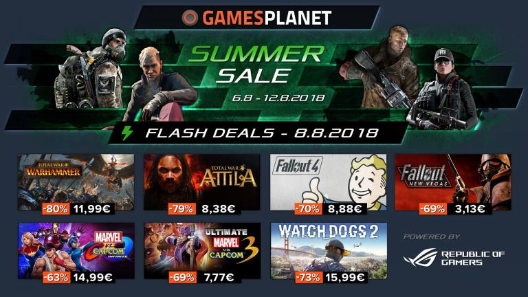 Gamesplanet continue avec les bonnes affaires !