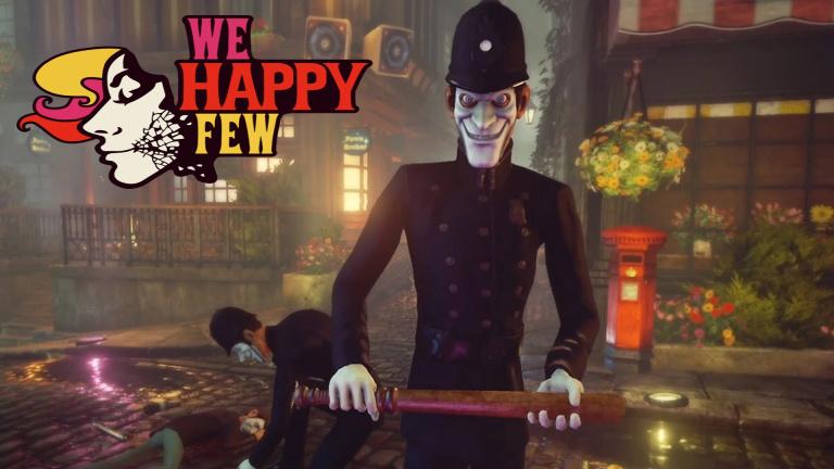 We Happy Few : les trophées / succès du jeu steampunk dévoilés