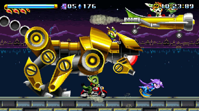 Freedom Planet arrive sur Switch à la fin du mois