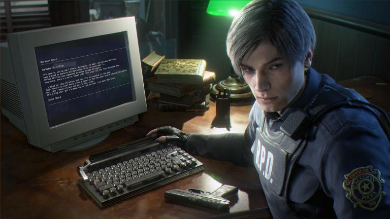 Resident Evil 2 Remake : Un clavier mécanique aux couleurs du jeu