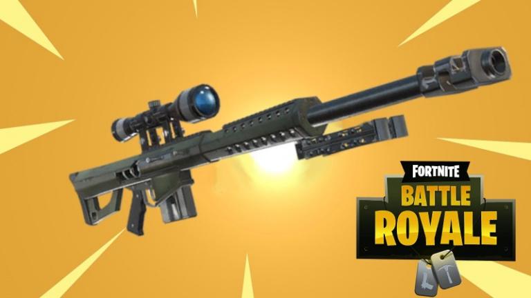 [MàJ] Fortnite Battle Royale : le sniper lourd prêt à débarquer ! Stats et stratégies à savoir, le guide