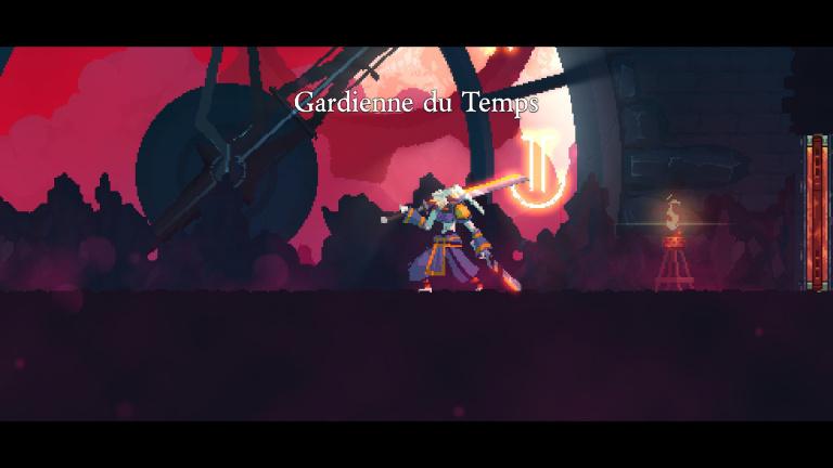Éliminer The Assassin, La Gardienne du Temps