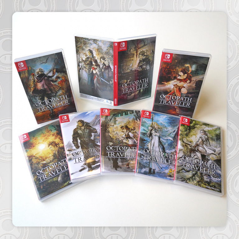 Octopath Traveler : des jaquettes alternatives avec le programme My Nintendo