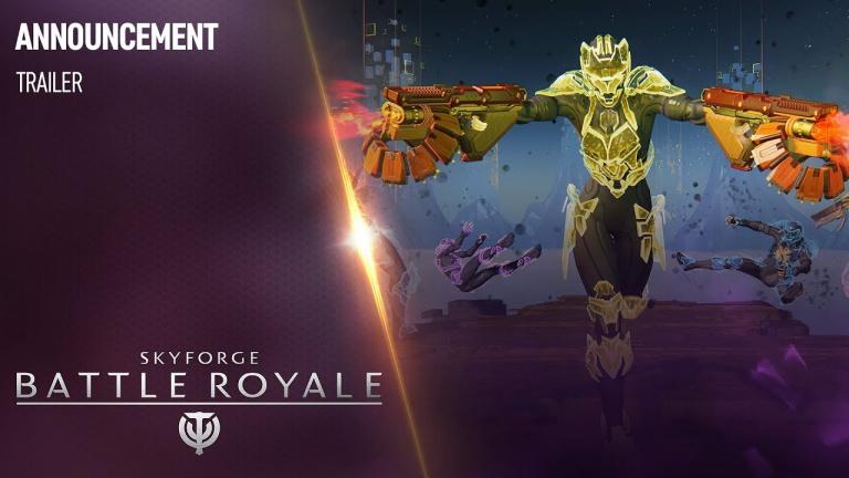 Skyforge se mettra aussi au Battle Royale le 28 août