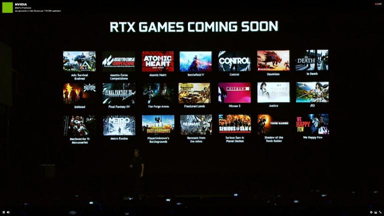 Nvidia RTX : 9 jeux ajoutés à la liste des titres compatibles